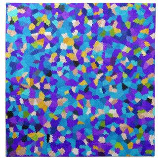 Colorful background napkins