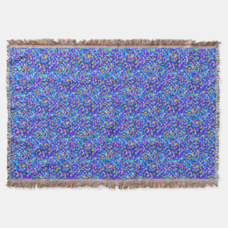 Colorful background throw blanket