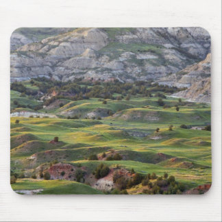 Colorful badlands from Buck Hill overlook in Mouse Pad