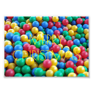Colorful Ball Pit Balls Kids Play Photo