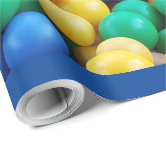 Colorful Ball Pit Balls Kids Play Wrapping Paper