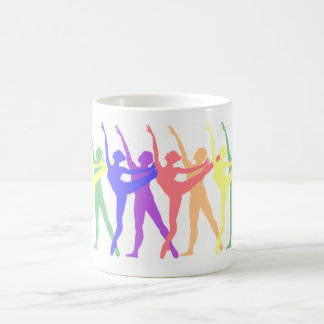 Colorful Ballet Dance Mug