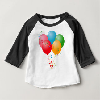 Colorful Balloons Baby T-Shirt
