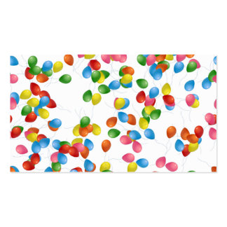 Colorful Balloons Business Cards