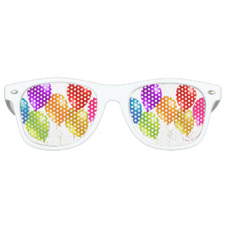 Colorful Balloons Retro Sunglasses