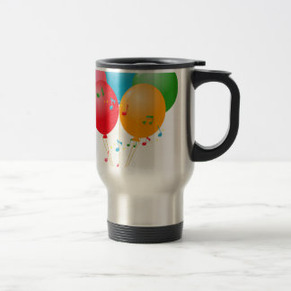Colorful Balloons Travel Mug