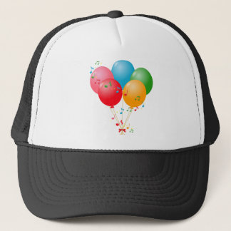 Colorful Balloons Trucker Hat
