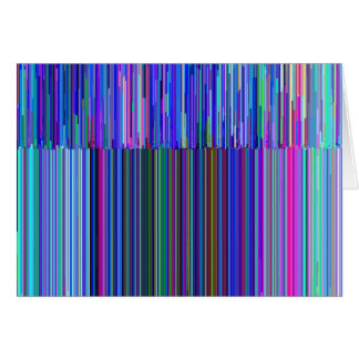 "Colorful ""barcode"" , made from blue stripes card"
