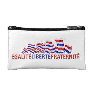 Colorful Bastille Day Design Makeup Bag