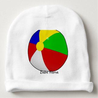 Colorful beach ball baby beanie