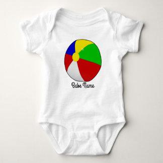 Colorful beach ball baby bodysuit