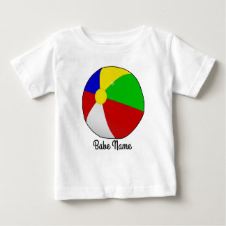 Colorful beach ball baby T-Shirt