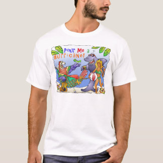Colorful beach party design. T-Shirt