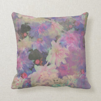 colorful beautiful flower decorative pillow