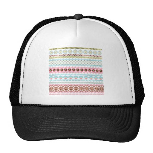 Colorful Beautiful Pattern Unique Gifts for Her Trucker Hat