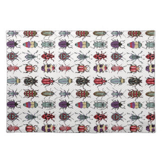 Colorful Beetles Placemat