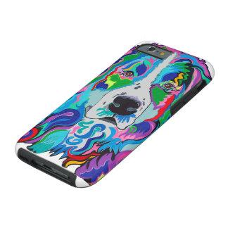 Colorful Bernese Phone Case2 Tough iPhone 6 Case
