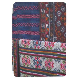 Colorful Bhutan Textiles iPad Air Cover