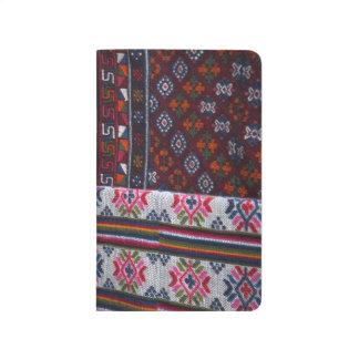 Colorful Bhutan Textiles Journal