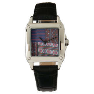 Colorful Bhutan Textiles Watch
