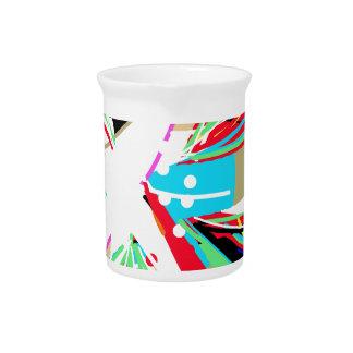 Colorful big bang pitcher