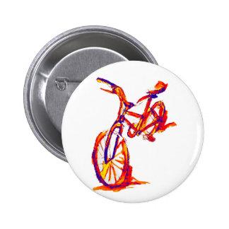 Colorful Bike Designs 6 Cm Round Badge