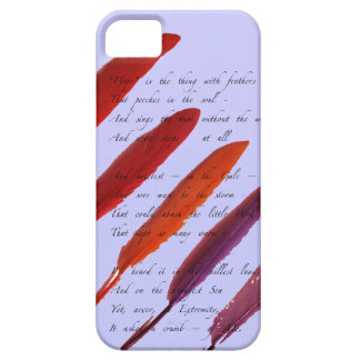 colorful bird feathers barely there iPhone 5 case