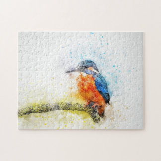 Colorful Bird Illustration Jigsaw Puzzle