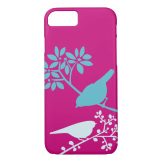 Colorful Birds and Berries iPhone 8/7 Case