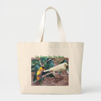 Colorful Birds, Go Green For The Birds Bags