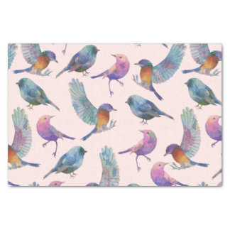 Colorful Birds Tissue Paper