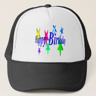 Colorful Birthday Trucker Hat