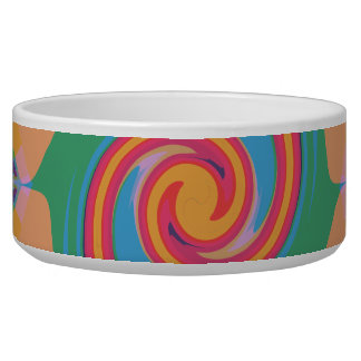Colorful Bizarre Pet Bowl