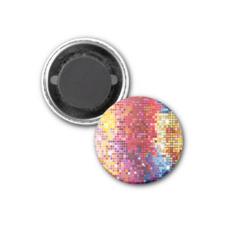 Colorful Bling-Magnet 3 Cm Round Magnet