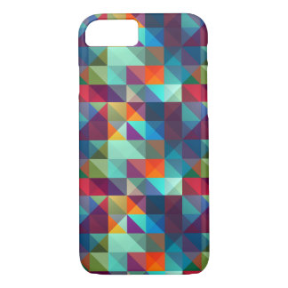 Colorful Block Pattern iPhone 8/7 Case