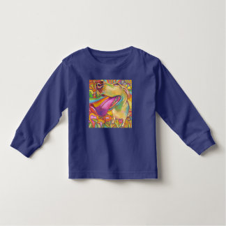 Colorful Blond Labrador by Robert Phelps Toddler T-Shirt