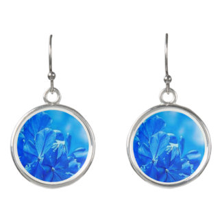 Colorful Blooming Bluebells Drop Earrings