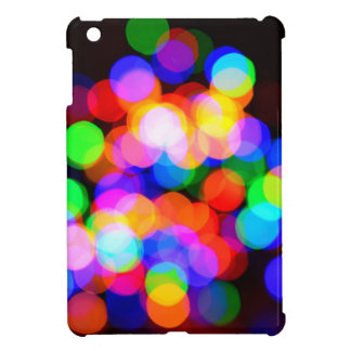 Colorful blurred lights cover for the iPad mini