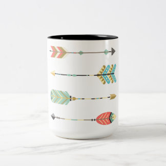 Colorful Bohemian Arrows Graphic | Coffee Mug