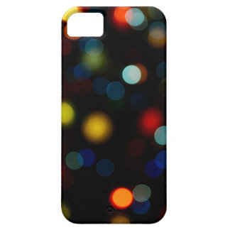 Colorful bokeh lights design iPhone 5 cover
