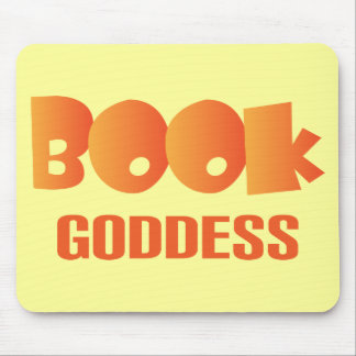 Colorful Book Goddess Reading Gift Mouse Pad