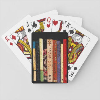 Colorful Books Playing Cards