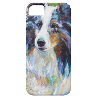 Colorful BORDER COLLIE Barely There iPhone 5 Case