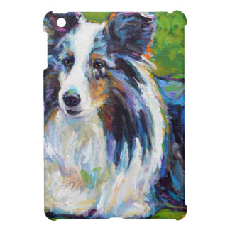 Colorful BORDER COLLIE iPad Mini Covers