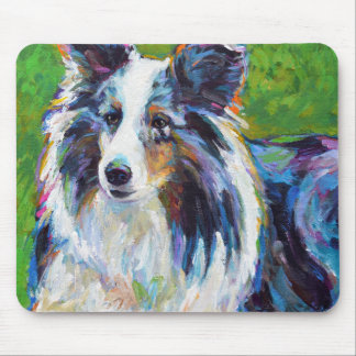 Colorful BORDER COLLIE Mouse Pad