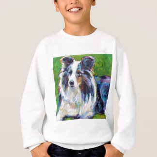 Colorful BORDER COLLIE Sweatshirt