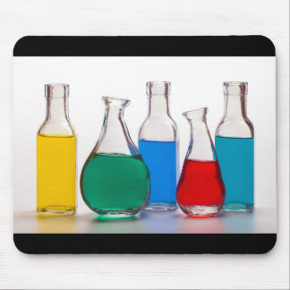Colorful bottle mouse pad