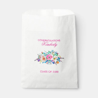Colorful Bouquet- Graduations Favour Bag