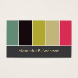 Colorful Boutique (v6) Business Card
