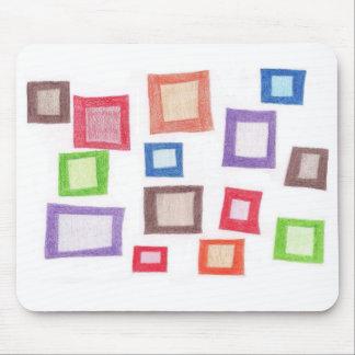 Colorful Boxes Mousepad